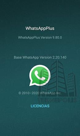 WhatsApp Plus 9.80.0